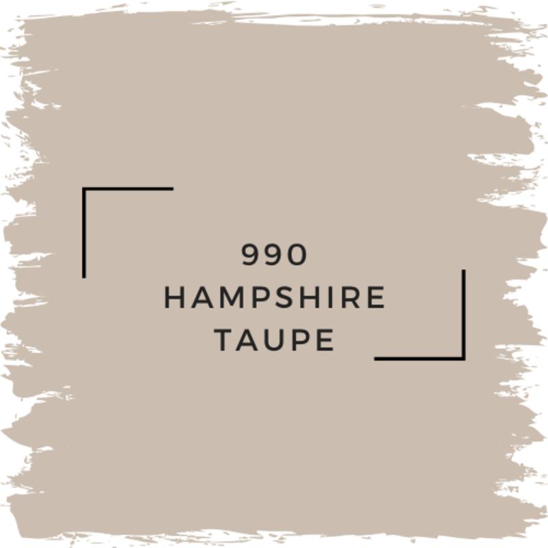 Benjamin Moore 990 Hampshire Taupe