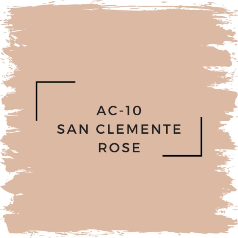 Benjamin Moore AC-10 San Clemente Rose