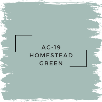 Benjamin Moore AC-19 Homestead Green