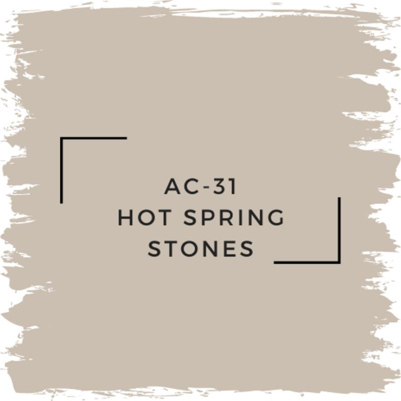 Benjamin Moore AC-31 Hot Spring Stones