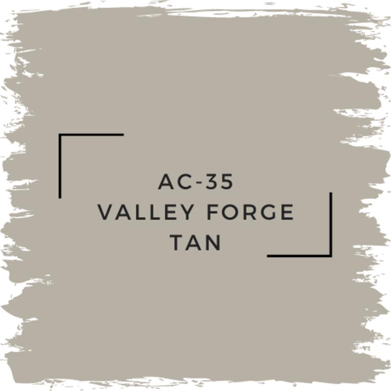Benjamin Moore AC-35 Valley Forge Tan