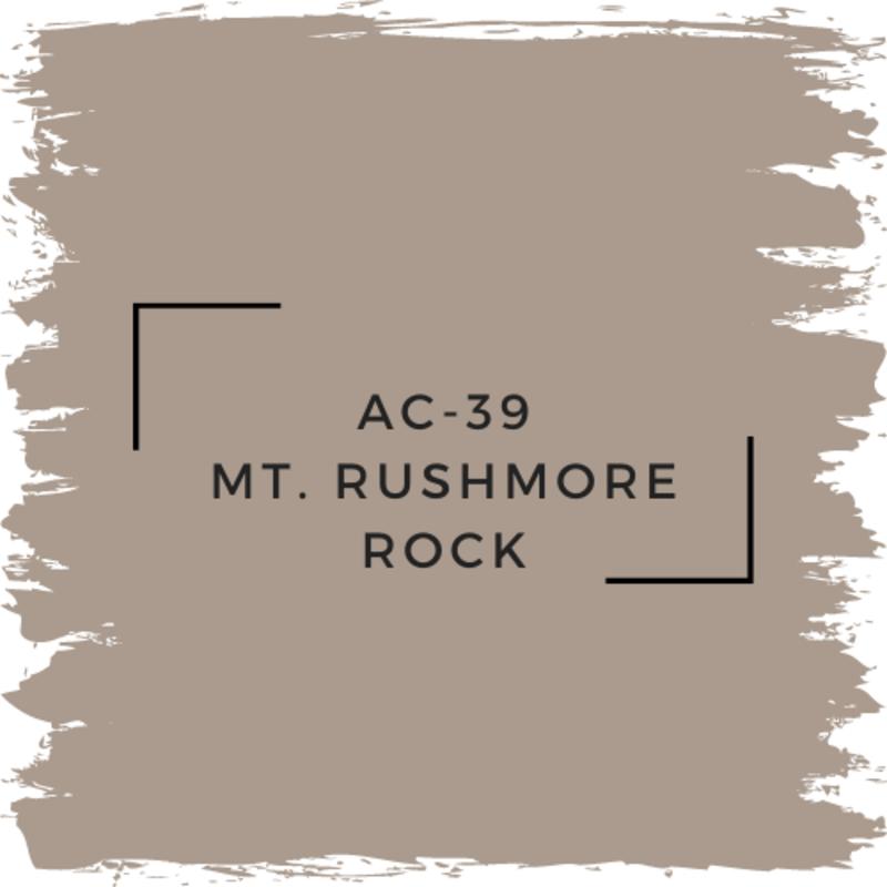 Benjamin Moore AC-39 Mt. Rushmore Rock