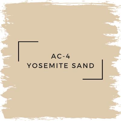 Benjamin Moore AC-4 Yosemite Sand