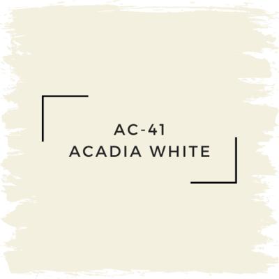 Benjamin Moore AC-41 Acadia White