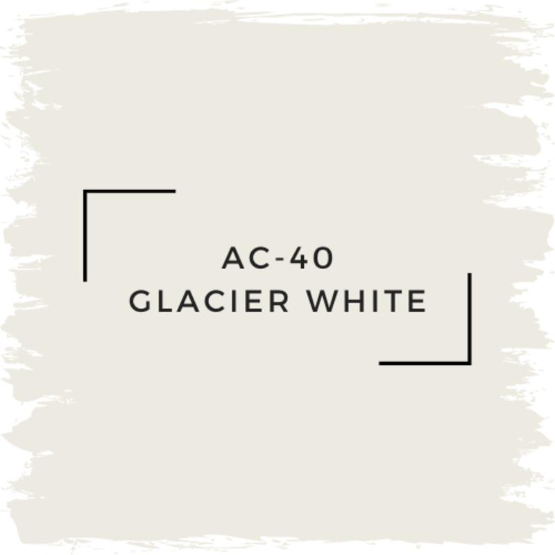 Benjamin Moore AC-40 Glacier White