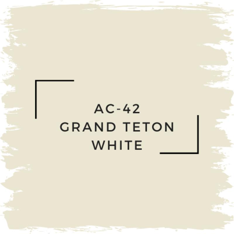 Benjamin Moore AC-42 Grand Teton White