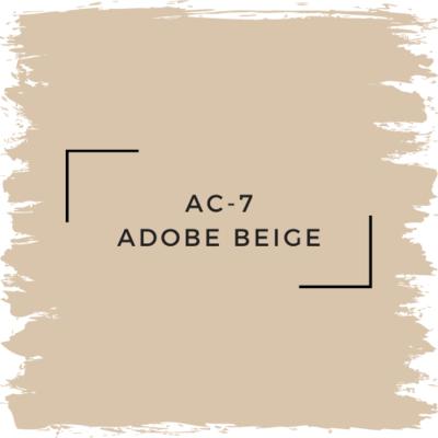 Benjamin Moore AC-7 Adobe Beige