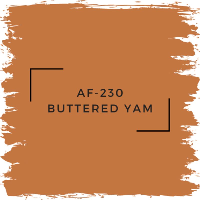 Benjamin Moore AF-230 Buttered Yam