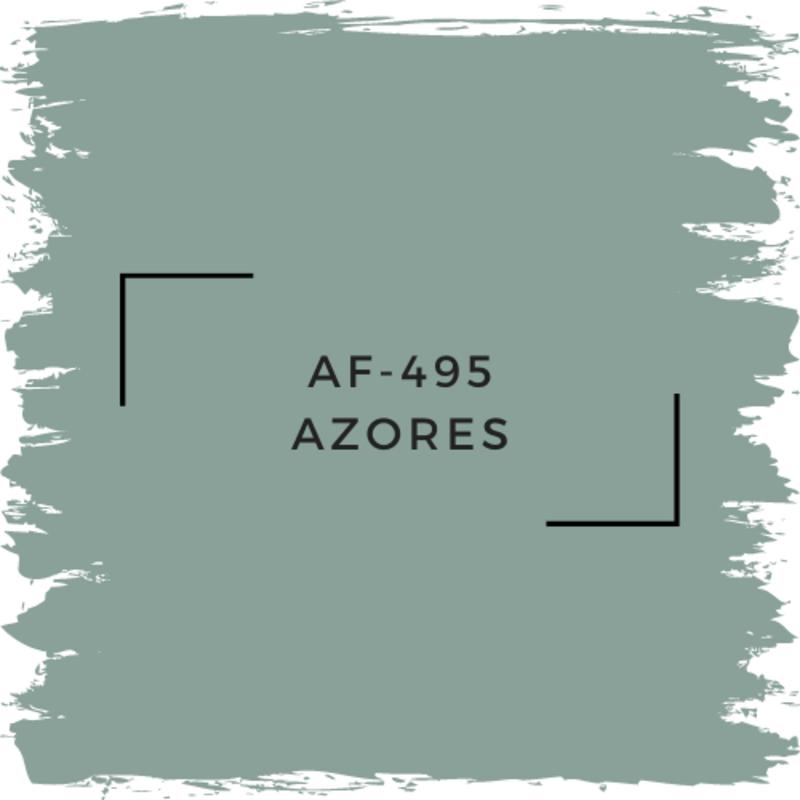 Benjamin Moore AF-495 Azores