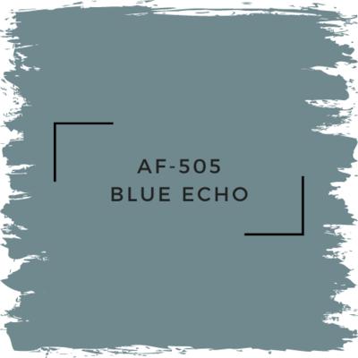 Benjamin Moore AF-505 Blue Echo