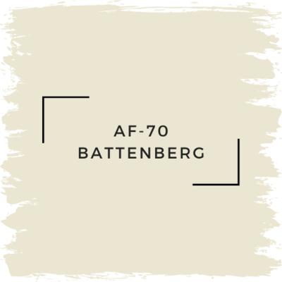 Benjamin Moore AF-70 Battenberg
