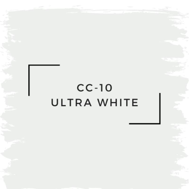 Benjamin Moore CC-10 Ultra White