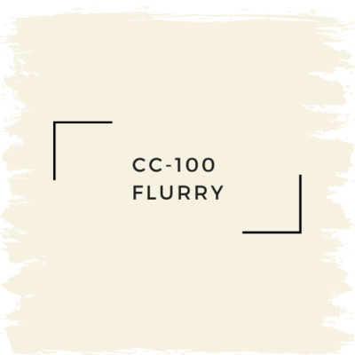 Benjamin Moore CC-100  Flurry