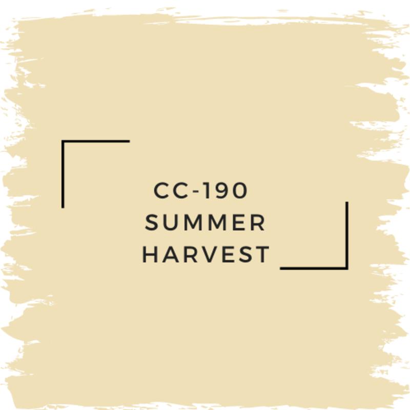 Benjamin Moore CC-190  Summer Harvest