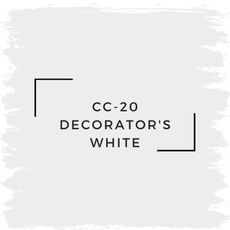 Benjamin Moore CC-20 Decorator's White