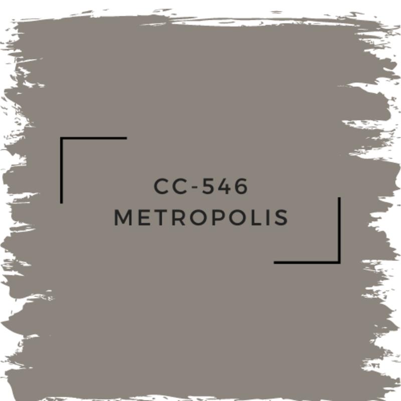 Benjamin Moore CC-546 Metropolis