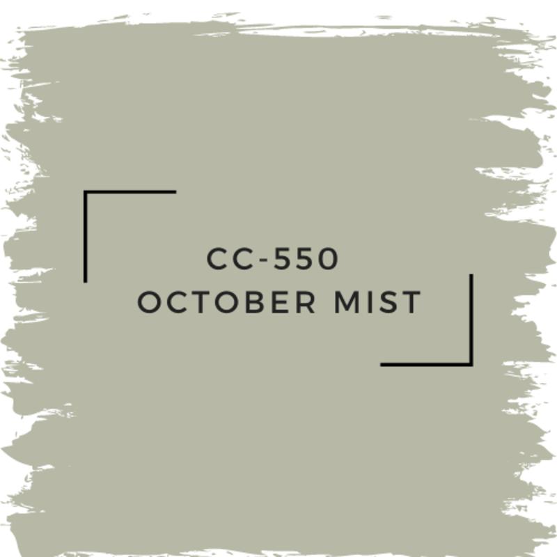 Benjamin Moore CC-550  October Mist