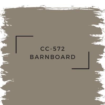 Benjamin Moore CC-572 Barnboard