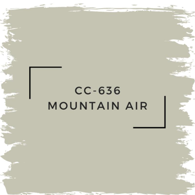 Benjamin Moore CC-636 Mountain Air
