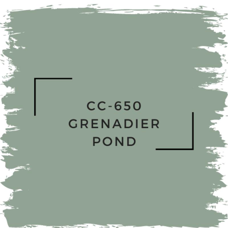 Benjamin Moore CC-650 Grenadier Pond