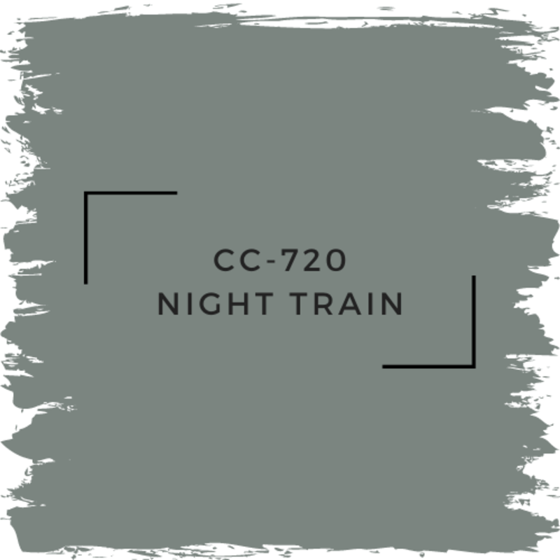 Benjamin Moore CC-720 Night Train