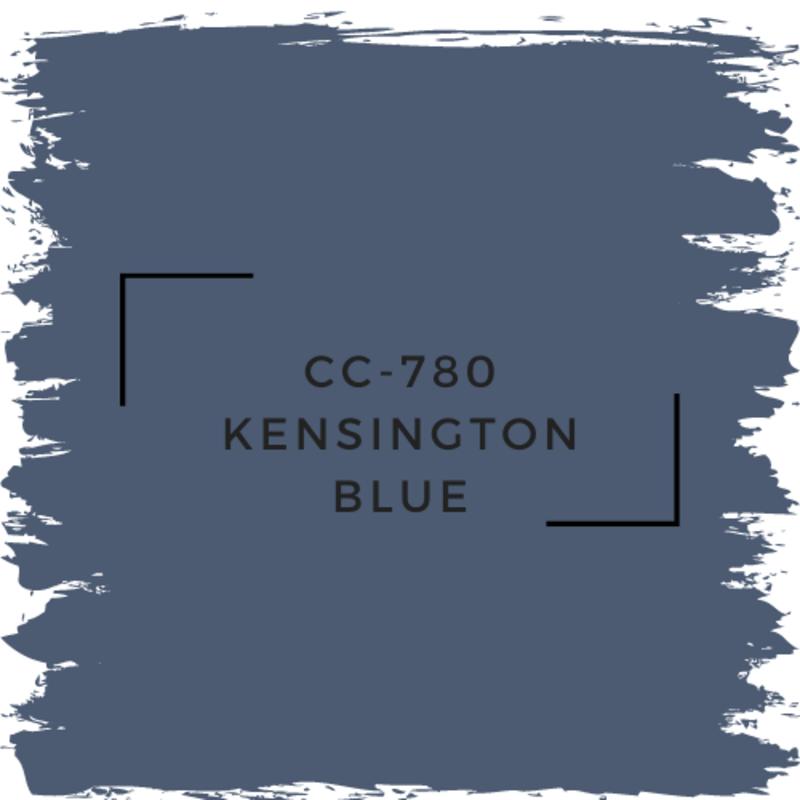 Benjamin Moore CC-780 Kensington Blue