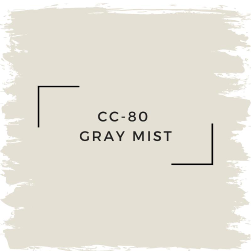 Benjamin Moore CC-80  Gray Mist