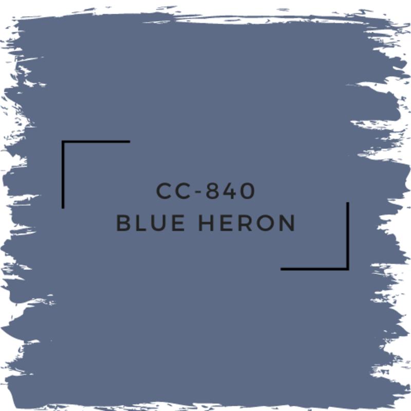 Benjamin Moore CC-840 Blue Heron