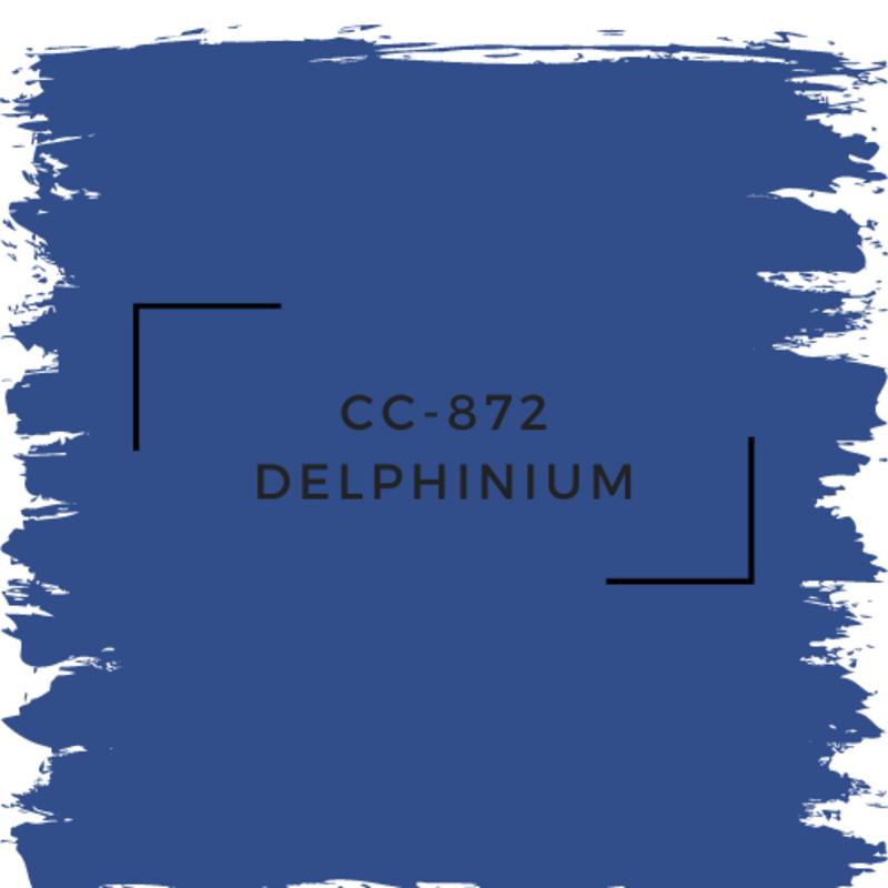 Benjamin Moore CC-872 Delphinium