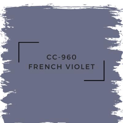 Benjamin Moore CC-960 French Violet