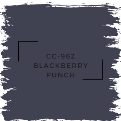 Benjamin Moore CC-962 Blackberry Punch