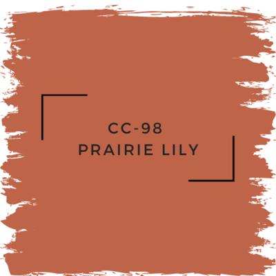 Benjamin Moore CC-98  Prairie Lily