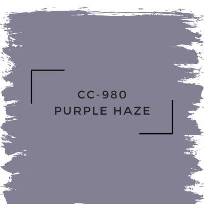 Benjamin Moore CC-980 Purple Haze