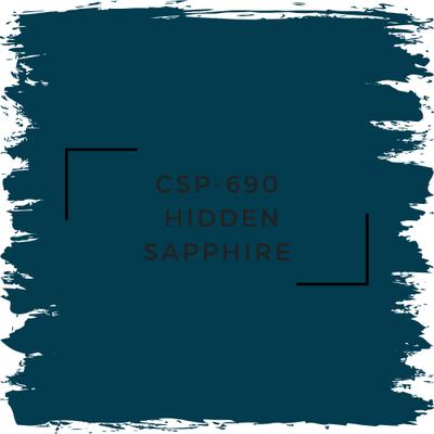Benjamin Moore CSP-690 Hidden Sapphire