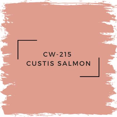 Benjamin Moore CW-215 Custis Salmon