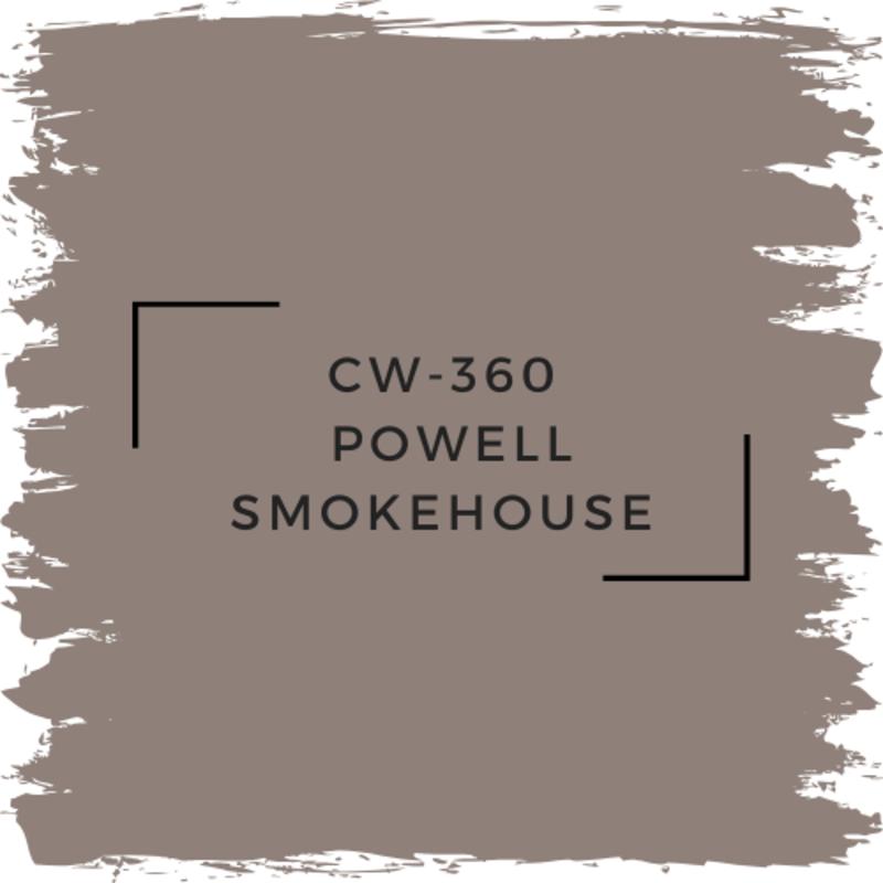 Benjamin Moore CW-360 Powell Smokehouse