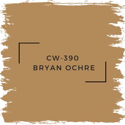 Benjamin Moore CW-390 Bryan Ochre