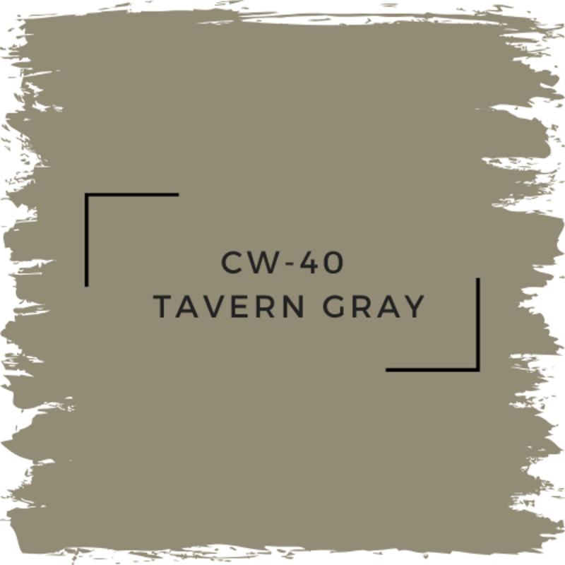 Benjamin Moore CW-40 Tavern Gray