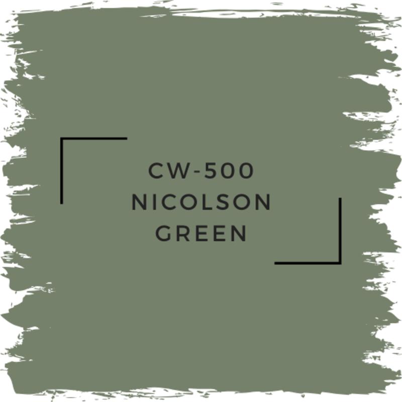 Benjamin Moore CW-500 Nicolson Green