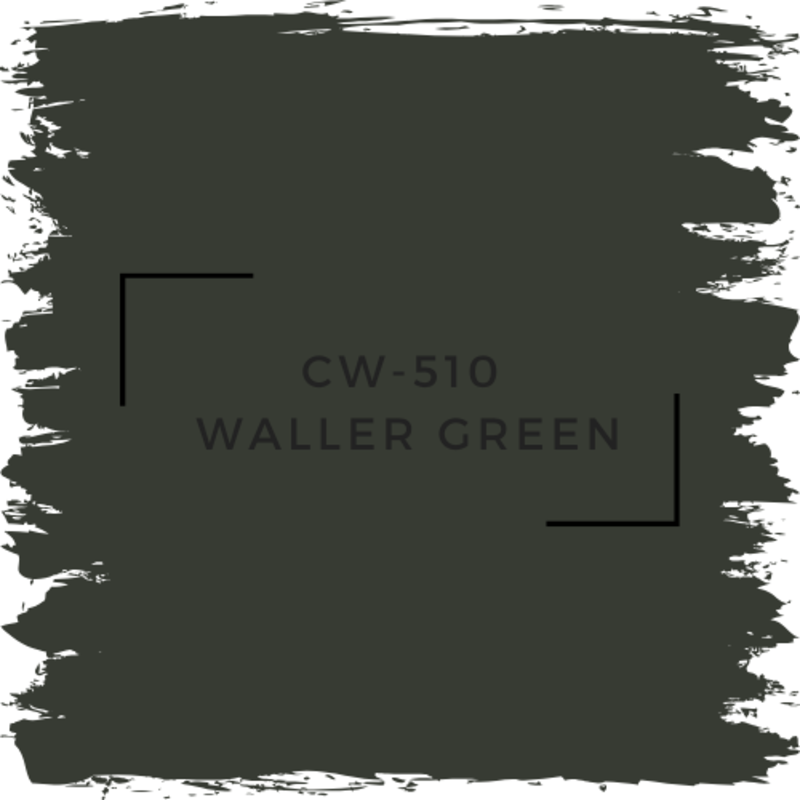 Benjamin Moore CW-510 Waller Green