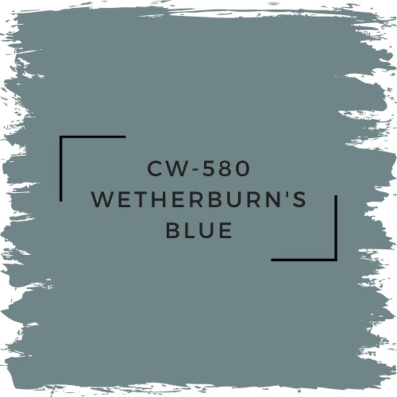 Benjamin Moore CW-580 Wetherburn's Blue
