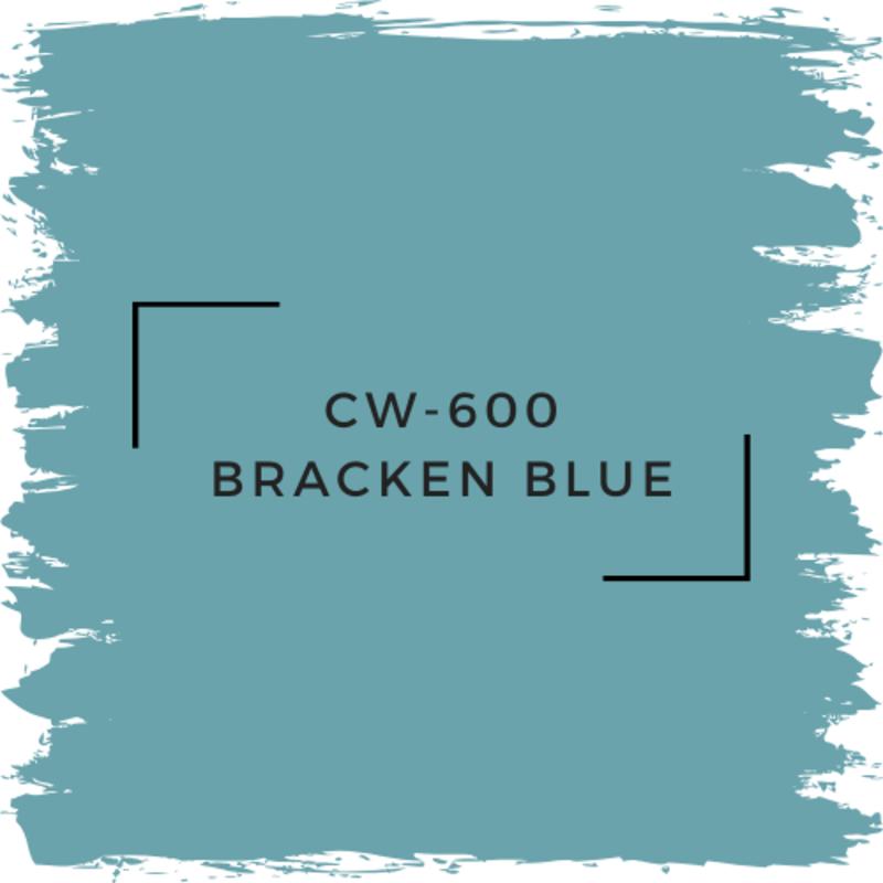 Benjamin Moore CW-600 Bracken Blue