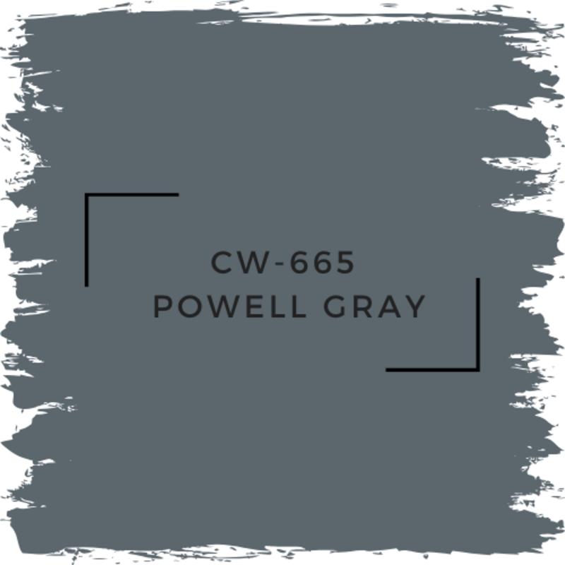 Benjamin Moore CW-665 Powell Gray