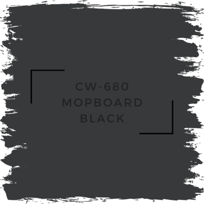 Benjamin Moore CW-680 Mopboard Black