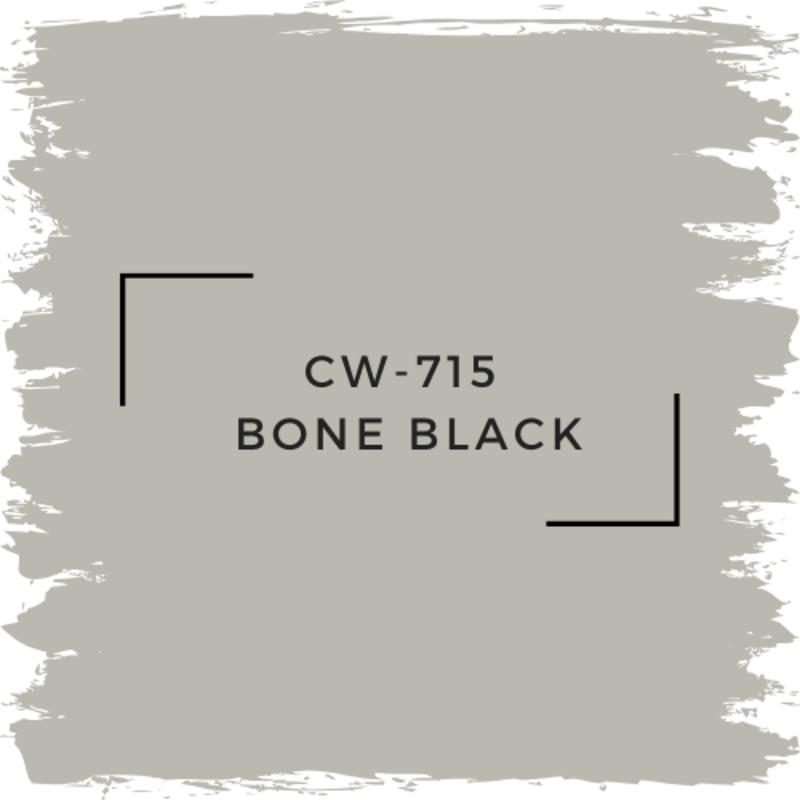 Benjamin Moore CW-715 Bone Black