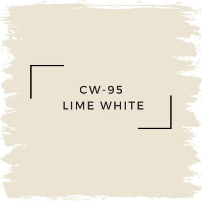 Benjamin Moore CW-95 Lime White