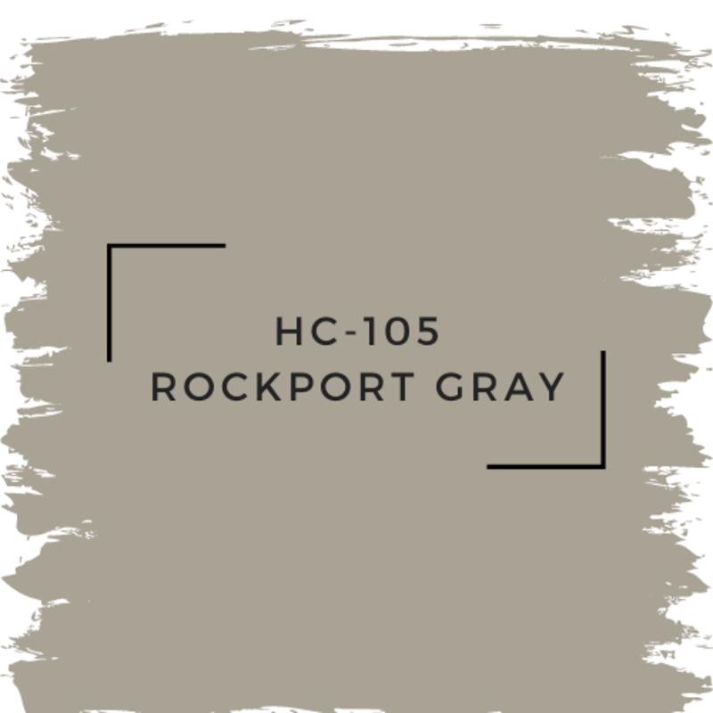 Benjamin Moore HC-105 Rockport Gray