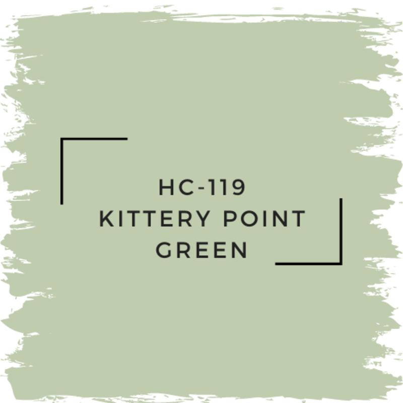 Benjamin Moore HC-119 Kittery Point Green