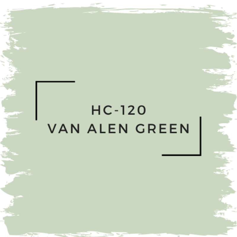 Benjamin Moore HC-120 Van Alen Green