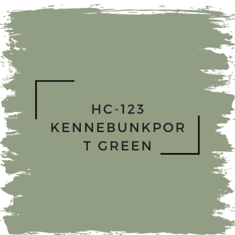 Benjamin Moore HC-123 Kennebunkport Green